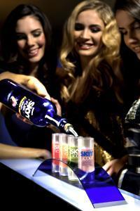 SKYY Vodka Pressefoto
