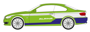 Car-Wrapping Alpina