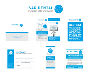 Corporate Design Isar Dental