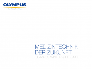 Olympus Imagebroschüre